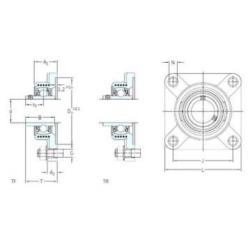 SKF FYK 25 TF bearing units