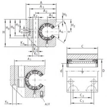 INA KGNCS 25 C-PP-AS linear bearings