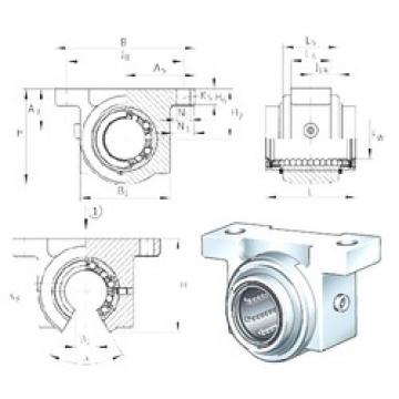 INA KGBO20-PP-AS bearing units