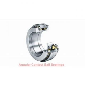 30 mm x 72 mm x 19 mm  NACHI 7306BDF angular contact ball bearings