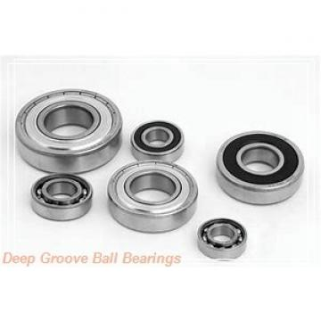 160 mm x 290 mm x 48 mm  NSK 6232 deep groove ball bearings