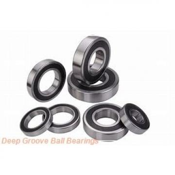 340 mm x 460 mm x 56 mm  NTN 6968 deep groove ball bearings