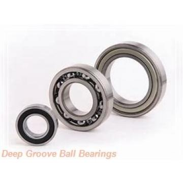 30 mm x 72 mm x 19 mm  KOYO 6306NR deep groove ball bearings