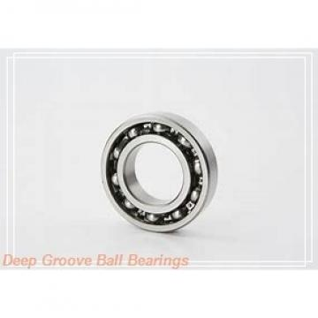 28,6 mm x 80 mm x 36,53 mm  Timken GW208PPB5 deep groove ball bearings