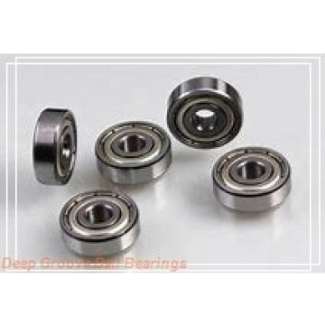 5 mm x 11 mm x 5 mm  NMB LF-1150ZZ deep groove ball bearings