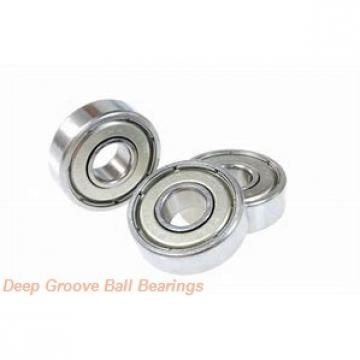 30 mm x 55 mm x 13 mm  KOYO 6006-2RS deep groove ball bearings