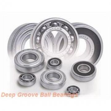 4,762 mm x 9,525 mm x 3,175 mm  ISO R166 deep groove ball bearings