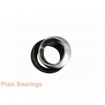 20 mm x 42 mm x 25 mm  ISO GE 020 HS-2RS plain bearings