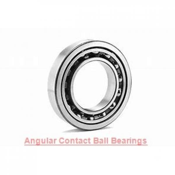 30 mm x 72 mm x 19 mm  NKE 7306-BECB-TVP angular contact ball bearings #1 image