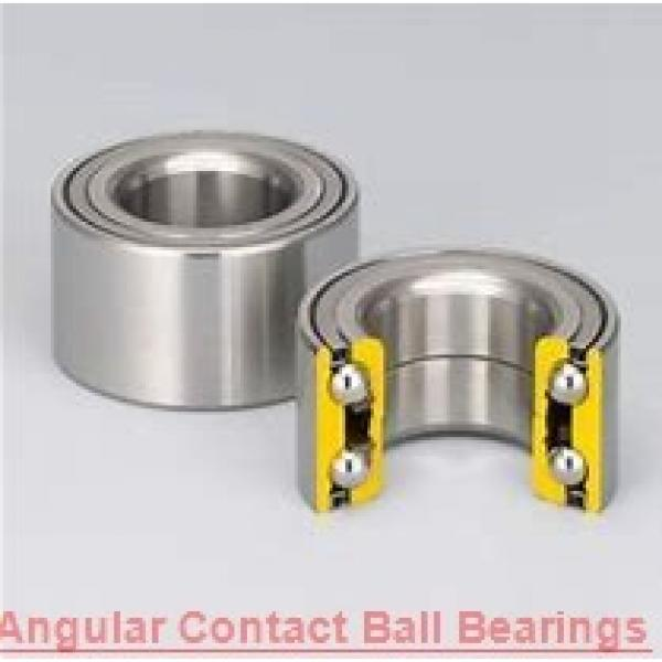 95 mm x 200 mm x 45 mm  NSK QJ319 angular contact ball bearings #1 image