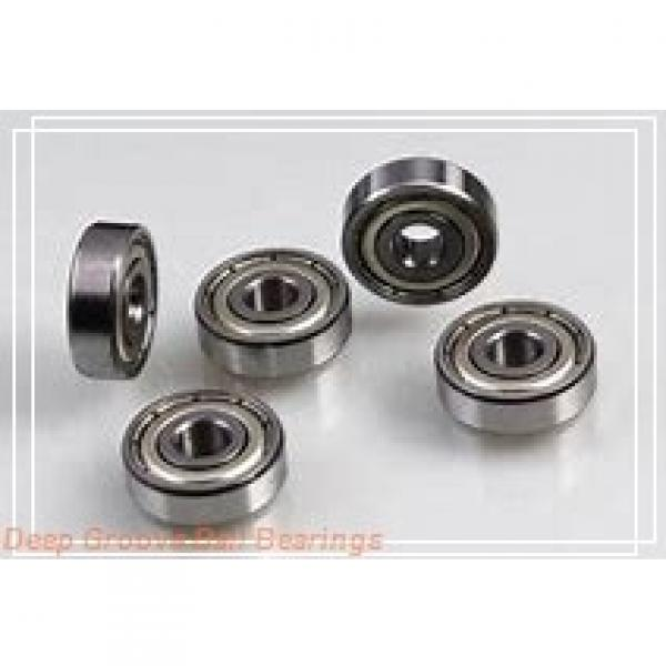 45 mm x 55 mm x 6 mm  SKF W 61709-2RS1 deep groove ball bearings #1 image