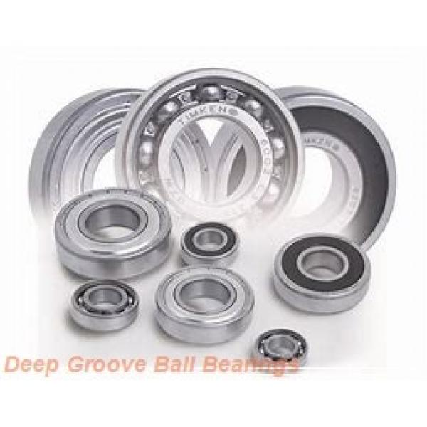 4 mm x 13 mm x 5 mm  ISB F624 deep groove ball bearings #3 image